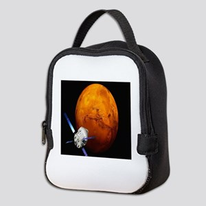 Orion Approaching The Red Plane Neoprene Lunch Bag